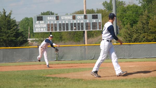 Baseball sitting atop Centennial League
