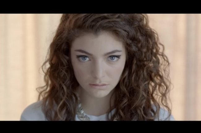 New artist, Lorde, makes a splash in the music scene