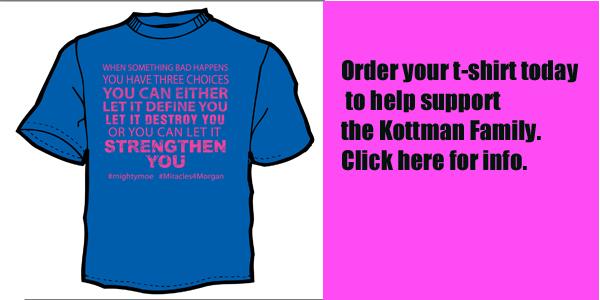 Kottman Fundraiser T-Shirts