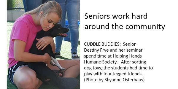 Seniors give back to community