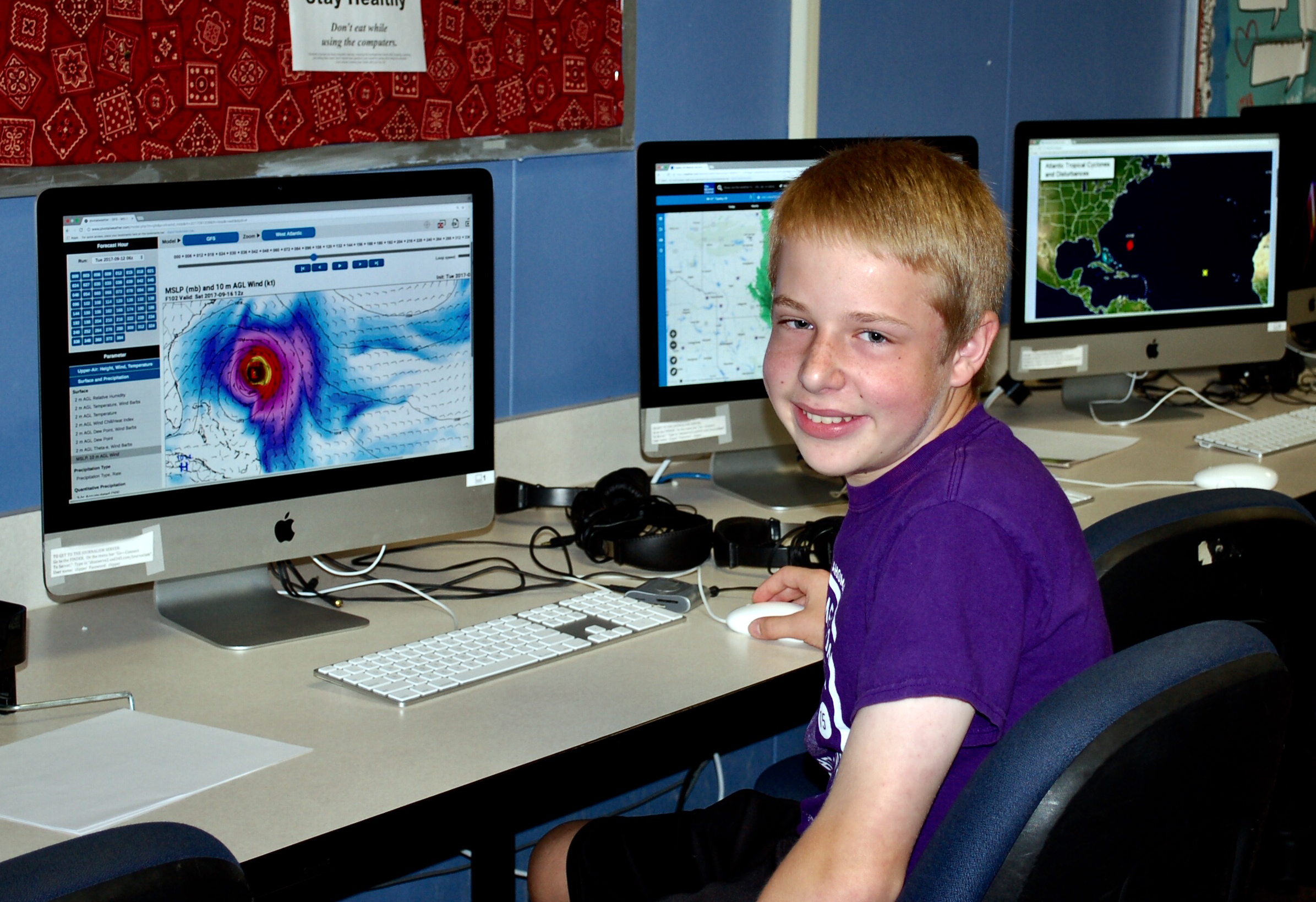 Never calm before the storm: Enthusiasm for weather guides to future career