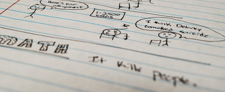 Doodling keeps focus on class