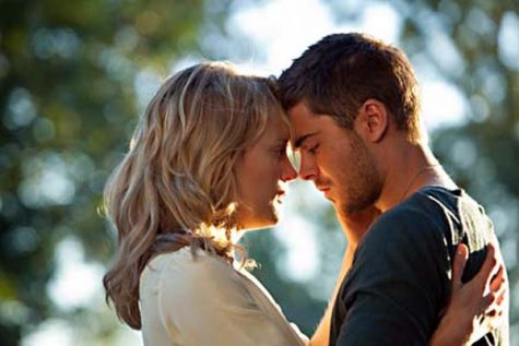 the lucky one stars Zac Efron and Taylor Schilling, who fall in love after Logan Thibault (Efron) finds a picture of Beth Clayton (Schilling) during his tour in Iraq.