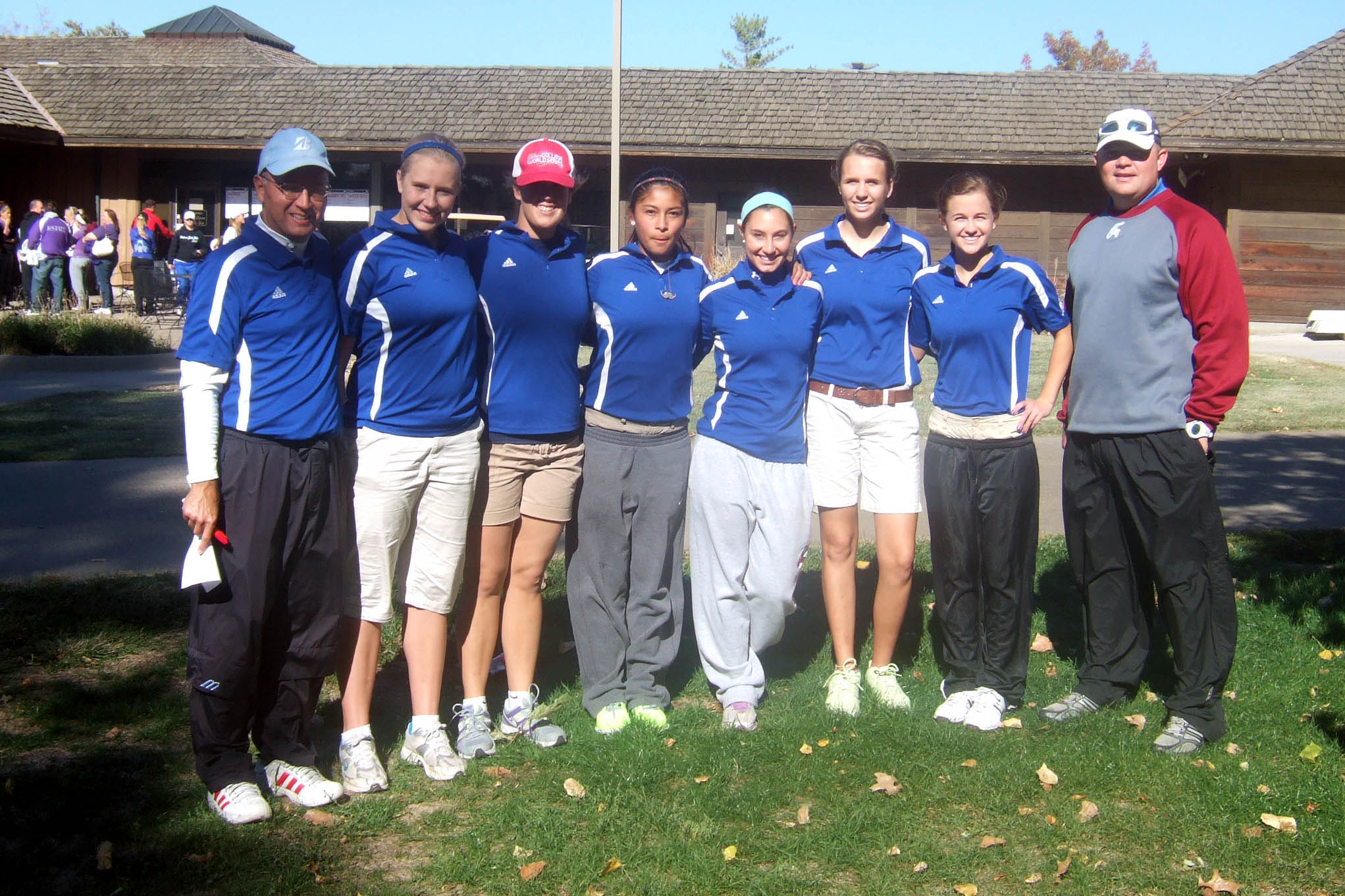 Record-breaking girls golf team competes at State