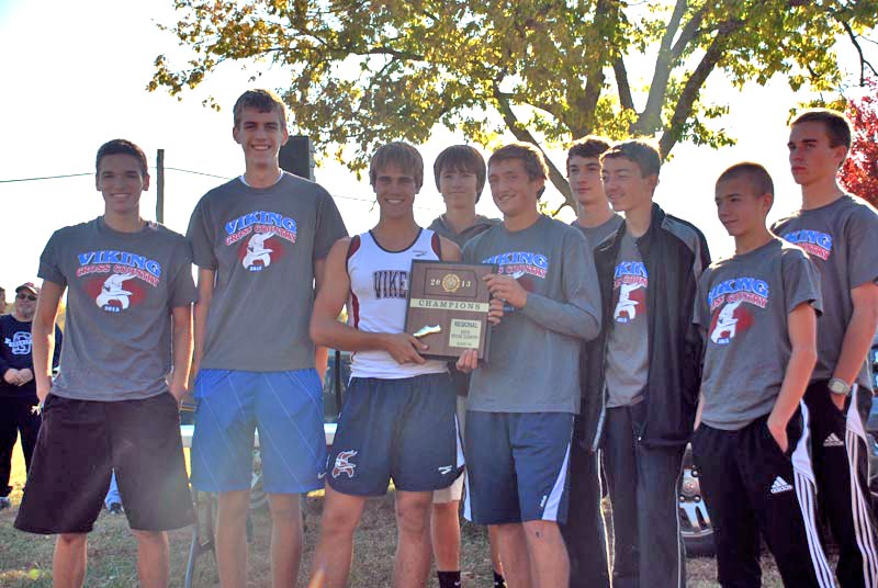 Boys cross country advances
