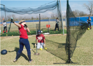 Young softball team starts strong