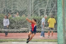 Exchange student adapts to American track and field