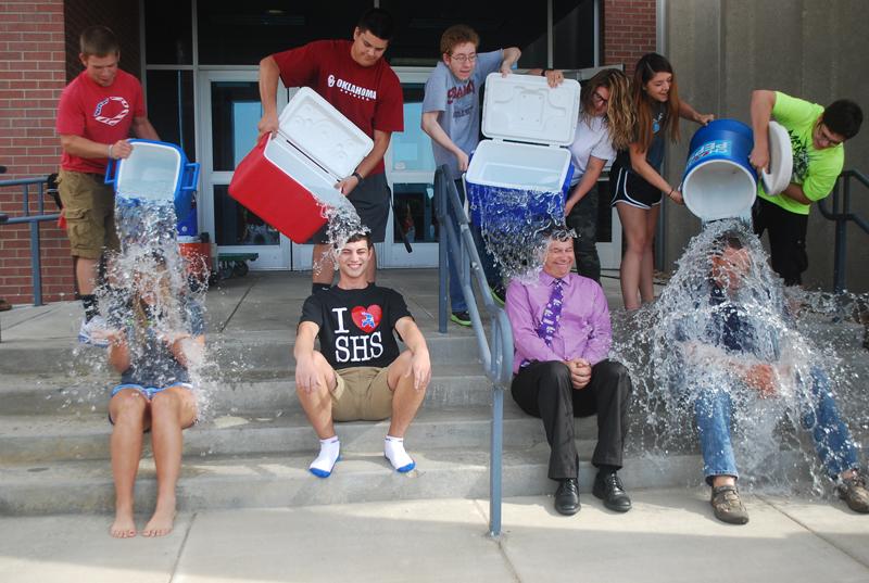 ALS challenge taken at SHS