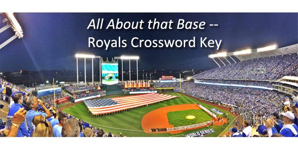 Royals Crossword Puzzle Key