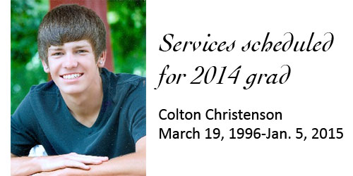 Services scheduled for 2014 grad