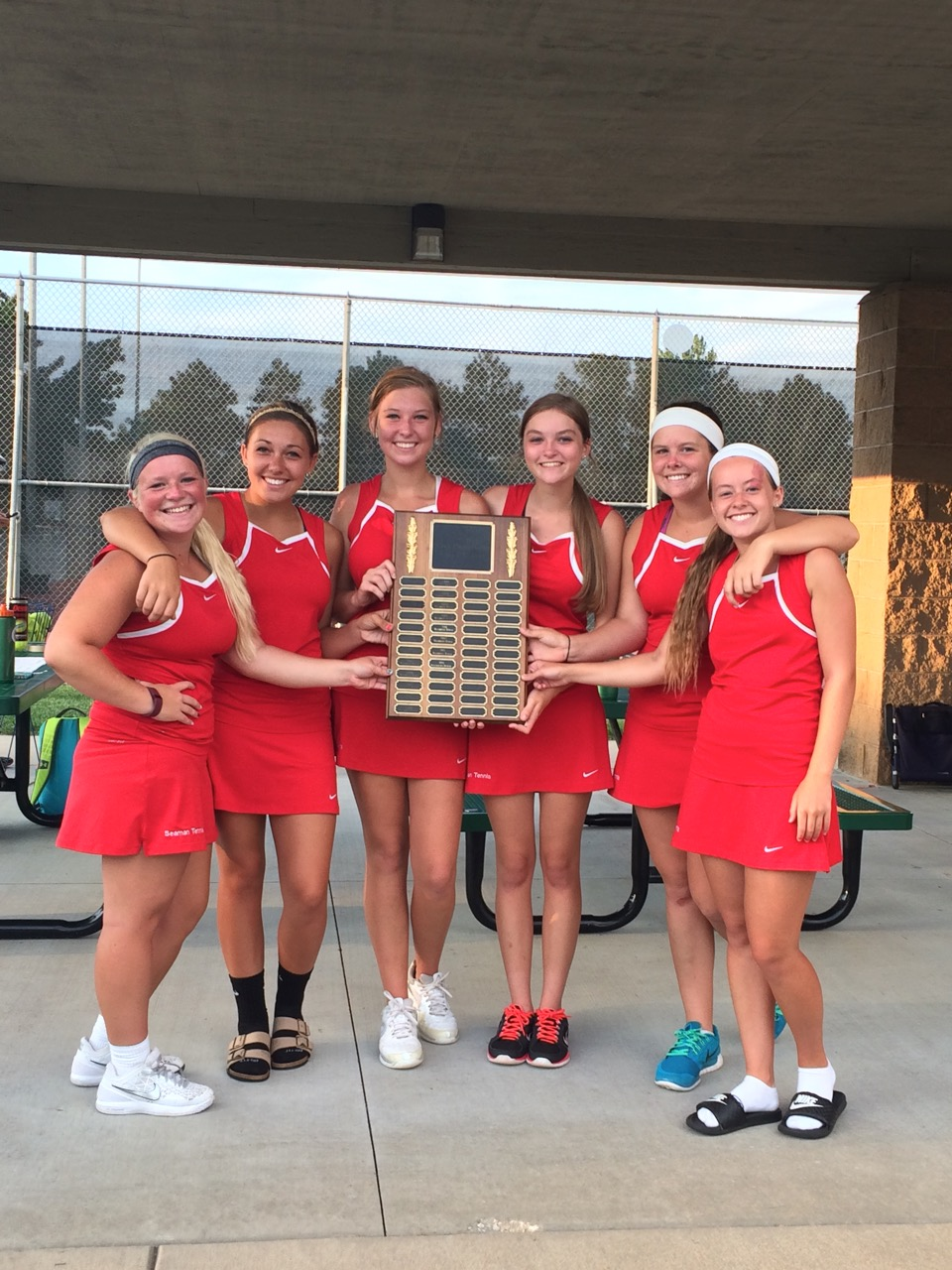 Tennis girls City champs