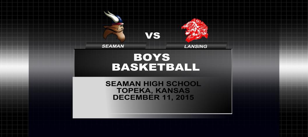 Boys basketball: Seaman vs Lansing
