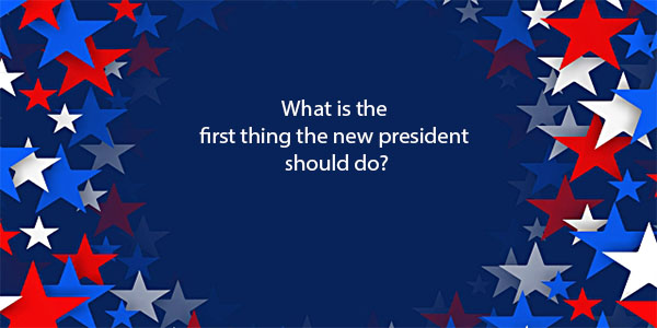 Viking Voice- What is the first thing the next President should do?