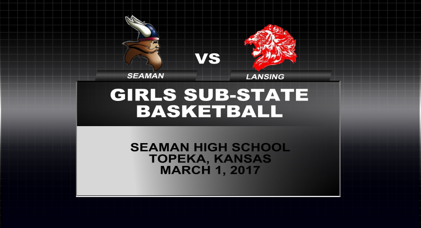Girls Sub-State Basketball vs Lansing