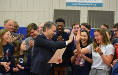 Education bill signed at Seaman High