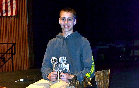 Sophomore uses skills to enhance freshmen awards assembly