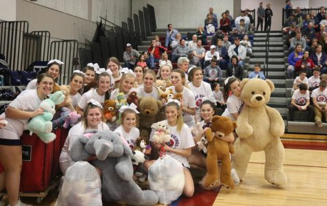 Teddy Bear Toss brings joy to children in need