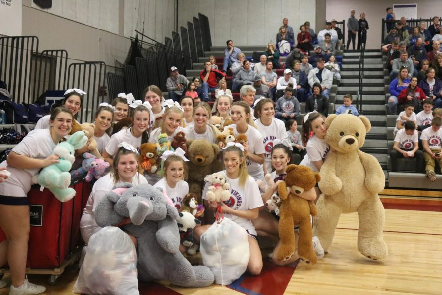 Teddy Bear Toss brings joy to children in need
