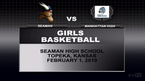 Girls Basketball vs Manhattan