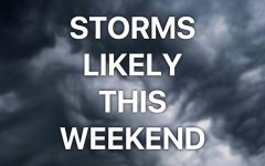 Wet weekend ahead