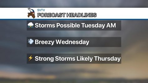 Thunderstorms likely Thursday