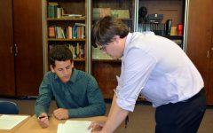 Spotlighting new theater teacher: Stauffer