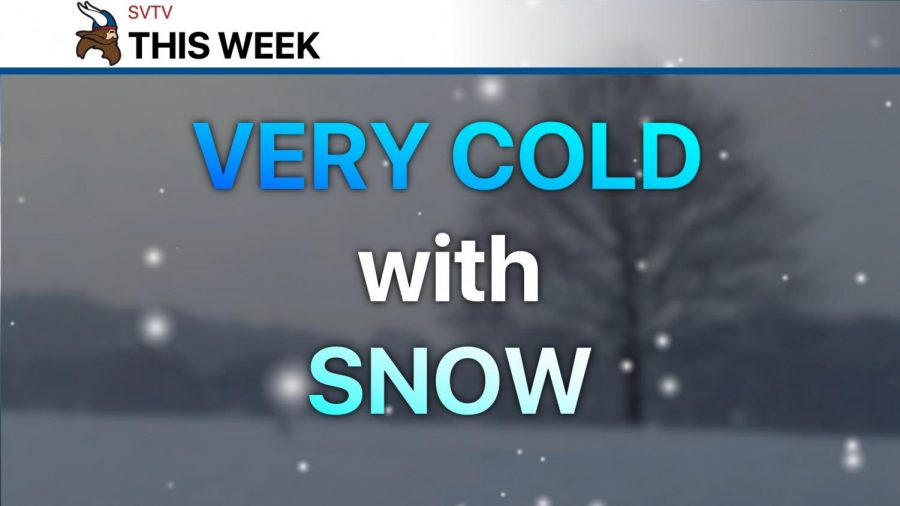Wintry weather this week
