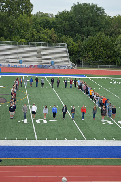 Almost 70 students form the second zero. The 100th class has inspired many activities around the school, including the theme for Homecoming.