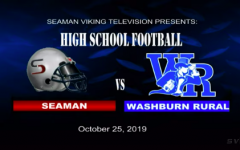 Seaman vs Washburn Rural Football (Senior Night)