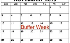 "Students use ""buffer week"" to reenergize"