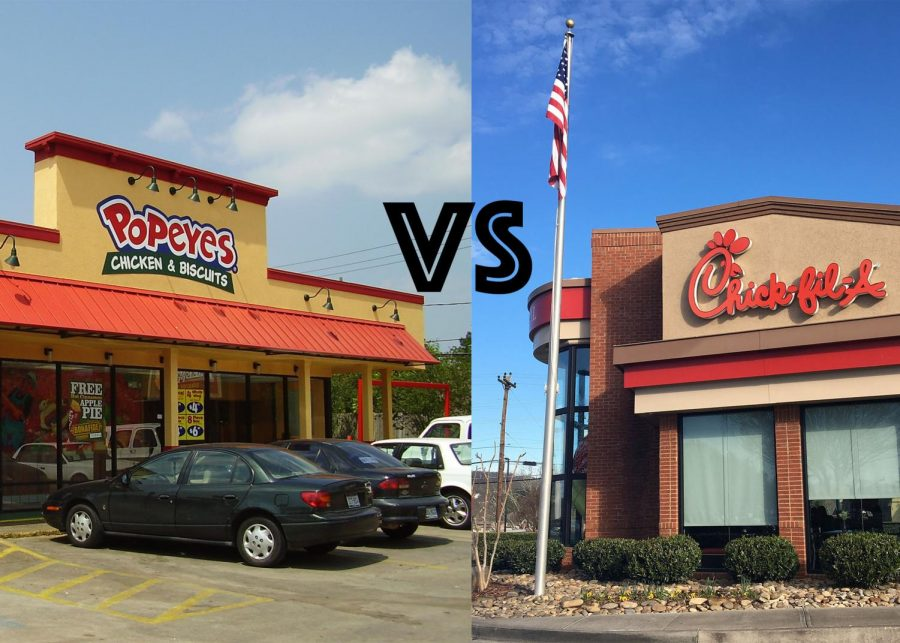 Popeyes+vs.+Chick-fil-a%3A+The+showdown