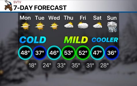 Mild conditions return for Thursday and Friday