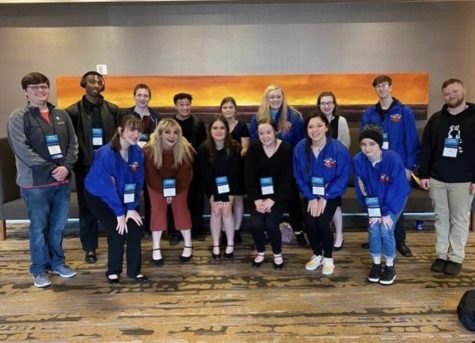 Seaman students take on Kansas Thespian Festival