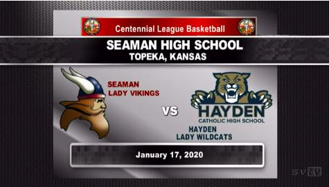 Girls B-Ball VS Hayden 1-17-20