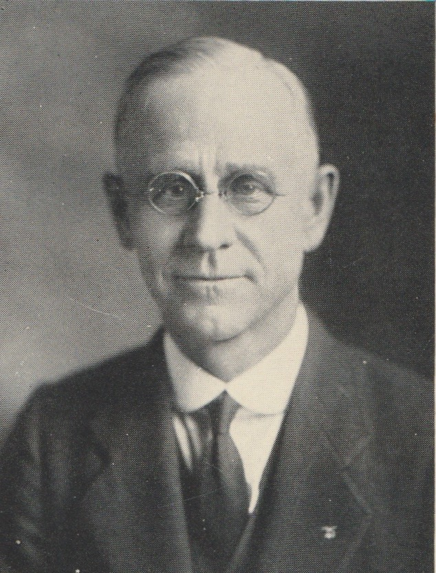 Fred Seaman poses for the 1922 Yearbook. Seaman was the founder of Seaman High School
