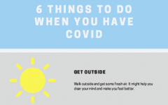 Six things to do when you have covid